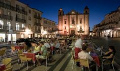 Praça do Giraldo, Evora. Photograph: Michele Falzone/Getty Images, Alentejo, Portugal