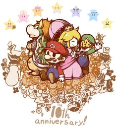 Mario 10th Anniversary