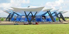 Futuro Coliseo Arena de Bogotá para celebrar desde un concierto hasta un partido de tenis.
