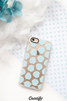 Click through to see more iPhone 6 phone case designs by Katie Reed. Check out some shells pattern phone case here >>> https://www.casetify.com/katscases/collection | @casetify