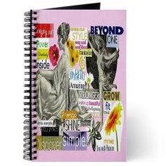 Wake Up Beautiful Journal #collage