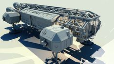 Space 1999 Eagle Project on Behance