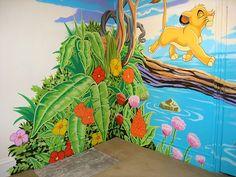 Google Image Result for http://www.sacredart-murals.co.uk/images/mural-rooms/Lion-King-Mural/Simba-jungle-mural.jpg