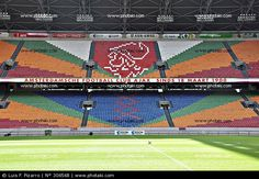 Ajax Amsterdam ArenA: Been there, done that, saw Ajax win their 30th Championship!