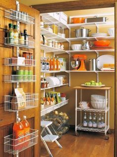 Pantries For An Organized Kitchen Home Improvement Diy Network Homeimprovement Extra Storage