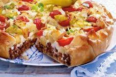 Das Rezept für Griechischer Kartoffel-Hack-Kuchen und weitere kostenlose Rezepte auf LECKER.de (Grilled Pizza Recipes)