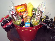 Employee appreciation gift baskets one for each week during ice bucket gift basket type prize for drawing during employee appreciation employees purchase negle Choice Image