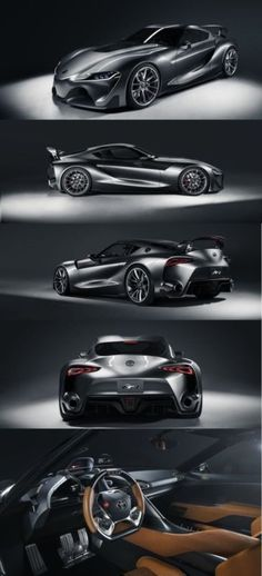 Toyota's FT-1 Concept will blow you away! Click to find out more. #carporn #spon