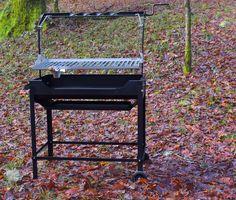 Barbacoa modelo Soar Plus de JR Baluja. Acero inoxidable y hierro. www.jrbaluja.com