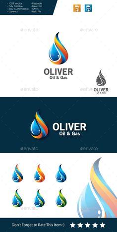 Oil Gas - Logo Design Template Vector #logotype Download it here: http://graphicriver.net/item/oil-gas-logo-/11261659?s_rank=677?ref=nesto