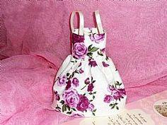 Μπομπονιέρα Βάπτισης Vintage Φορεματάκι
