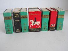 VINTAGE DENNISON MINI BOOKS  LOT OF 7  DESK & OFFICE SUPPLIES