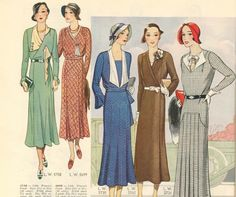 Pictorial Review Fashion Book, Fall 1931