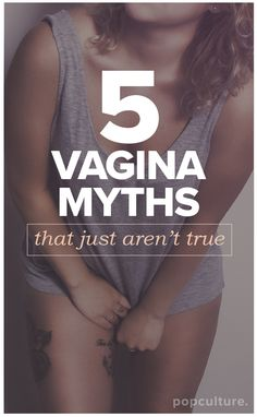 Discover what's myth and what's fact and to finally sort out your best feminine hygiene habits once and for all. #womenshealth #healthyliving #myths #funfacts #vagina