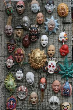 How to Make Easy Paper Mache Masks. Papier-mache masks are a festive accessory for any occasion, including birthdays, Halloween or Fourth of July celebrations. The decorative masks can be worn, or strategically placed indoors and/or outdoors to accent any party theme. Remember to plan accordingly, as the process of making papier-mache masks will...