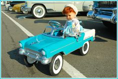 '55 Bel Air pedal car | Flickr - Photo Sharing!