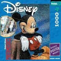 Mickey Mouse puzzle box cover