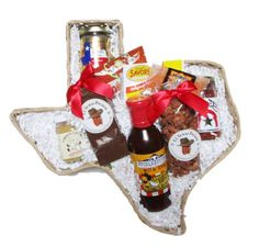 Taste of Texas Calf Roper Food Gift Basket