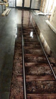 Epoxy Resin Flooring, Poured Resin Floors in London, UK - Royal Floors - Home decor and kitchen - Epoxy World here Epoxy 3d, Epoxy Resin Flooring, 3d Flooring, Concrete Floors, Epoxy Floor Diy, Flooring Ideas, Floor Design, House Design, Photowall Ideas