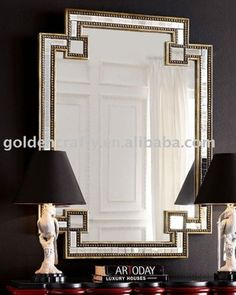 hotel wall decor mirror