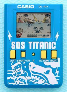 Casio game CG-117A SOS TITANIC 1987 Vintage Rare Retro VGC Collect Made in Japan | eBay Mini Arcade, Retro Arcade, Handheld Video Games, Nintendo, Game & Watch, Arcade Machine, Retro Video Games, School Games, Stupid Stuff