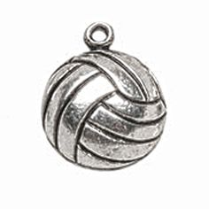 Single volleyball charm!