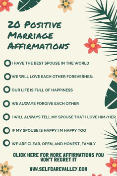 Healthy Marriage, Marriage Tips, Happy Marriage, Love And Marriage, Affirmations For Women, Self Love Affirmations, Morning Affirmations, Happy We, Happy Today