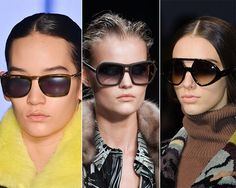 Fall/ Winter 2014-2015 Eyewear Trends: Graphical Sunglasses  #sunglasses #eyewear #fashiontrends