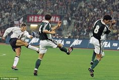 Gerrard scored an excellent goal for England and starred in the 5-1 win over Germany in 2001