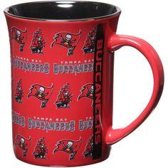 Tampa Bay Buccaneers Red 15oz. Line Up Mug