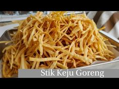 Fried Cheese Sticks, Cheese Fries, Cooking Time, Cooking Recipes, Indonesian Food, Recipies, Homemade, Snacks, Cake