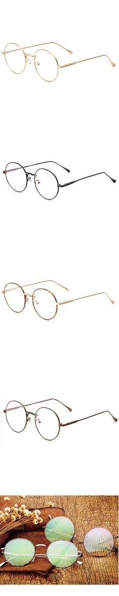 round nerd glasses clear lens unisex gold round metal frame glasses frame optical men women black uv oculos