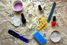 Give yourself a spa pedicure at home! @BabyCenter