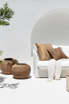 Beautiful outdoor living in a relaxed coastal style by Uniqwa Furniture. Magnolia Lane has been a proud supplier of Uniqwa Australia Wide for over 5 years. Coastal Style, Coastal Living, Interior Inspiration, Design Inspiration, Beton Design, Interior Decorating, Interior Design, Ibiza Style Interior, Interior And Exterior