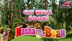 Masha and The Bear - Get well soon! (Episode - Full Cartoon Movie in english [HD] - video dailymotion - MY TV auf dailymotion ansehen Awesome Movies, Good Movies, Masha And The Bear, Get Well Soon, Cartoon Movies, Me Tv, Hd Video, Wellness, Neon Signs