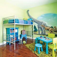 Chambre dinosaure enfant housse de couette jurassic - Deco chambre dinosaure ...