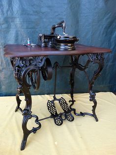 I talk about my method for restoring antique treadle sewing i talk about my method for restoring antique treadle sewing machines this is a 1908 white family rotary treadle sewing machine sciox Choice Image