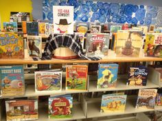 Our North-East Branch put together this display of cowboy books for the the 'Little' Big Read! http://kcbigread.org
