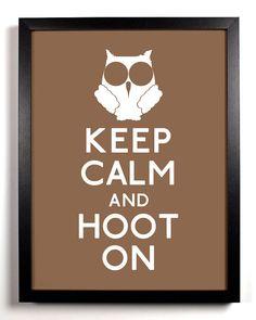 Owl meme says Keep Calm & hoot on. Owl Always Love You, My Love, Owl Theme Classroom, Keep Calm Posters, Owl Crafts, Wise Owl, Owl Art, Origami Owl, Lettering