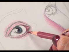 Art Lessons with Lee Hammond: Draw Faces in Colored Pencil - YouTube