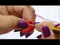 Tutorial Fresa Amigurumi Strawberry (English subtitles) - YouTube