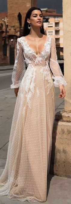 Wedding Dress by Milla Nova White Desire 2017 Bridal Collection - Silia