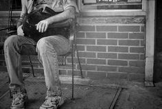 """Paul Cadden. Hyperrealism, (Drawings not photographs)  Graphite on Waterford 300gsm Paper  Title: """"Waiting"""""""