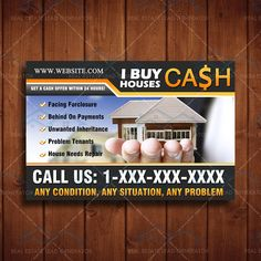 Professional Real Estate Marketing Materials everything from Lead Generation websites to Real Estate door hangers. Real Estate Business Cards, Real Estate Flyers, Real Estate Marketing, We Buy Houses, Real Estate Investing, Marketing Materials, Home Buying, Ads, This Or That Questions