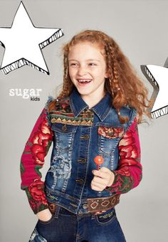 """Alejandra from Sugar Kids for Desigual """"It's not the same"""" by Leila Mendez"""