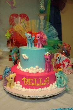 Bella's 5th Birthday Party Cake!