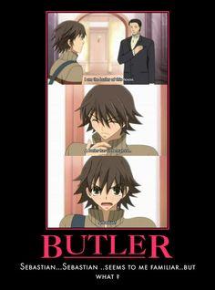 Love the black butler references