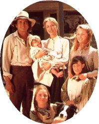 HA! Little House on the Prairie!  I grew up watching this, reading the books and, my family even took me on vacation when I was around 10 to see Laura Ingalls house :-)