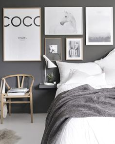 This gorgeous gray and white bedroom by @stylizimoblog is such a stunner. Would you like to see it as our next room redo? The vote is on! Double tap to vote and the pic with the most likes wins #copycatchic #roomredo #bedroom #master #masterbedroom #bedroomupdate #bedroomdesign #CopyCatChic