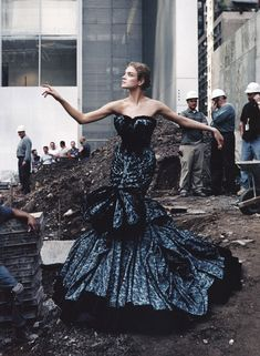 Natalia Vodianova, by Annie Leibovitz, US Vogue